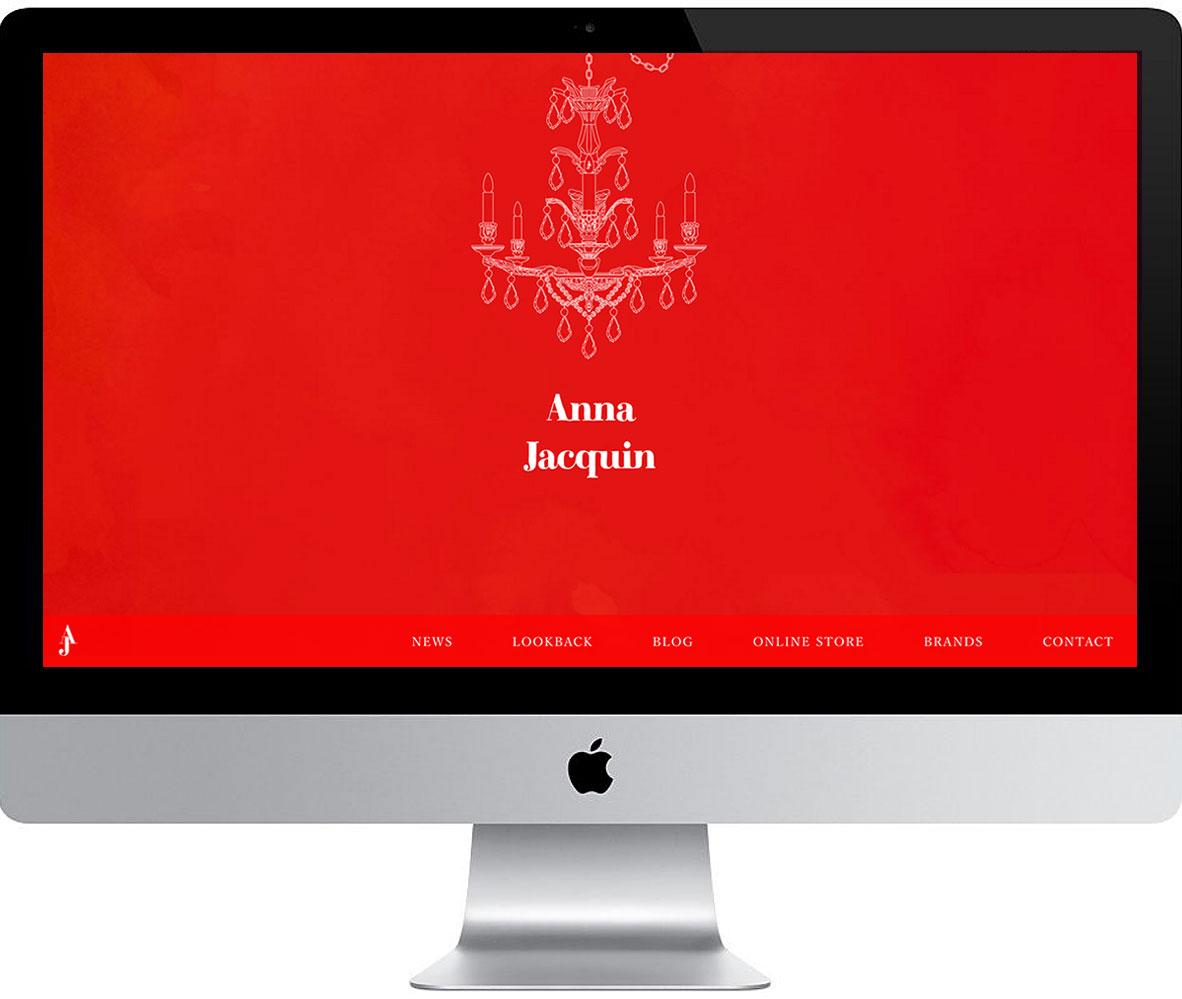 【WEBサイト】Anna Jacquin